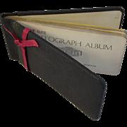 1920s Elite Autograph Album Book
