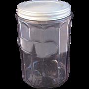 Vintage Hoosier Cabinet Jar