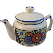 Czech Art Deco Teapot For One