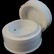 Victorian Porcelain Toothpaste Jar