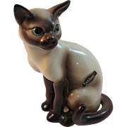 Vintage Brad Keeler Siamese Cat California Art Pottery
