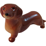 Goebel Miniature Dachshund Dog Figurine - Red Tag Sale Item