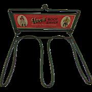 1940's  Van's Fishing Boot Saver - Red Tag Sale Item