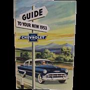1953 Chevrolet Owner's Manual