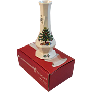 Nikko Christmastime 6 Inch Bud Vase in Original Box