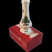 Nikko Christmastime 6 Inch Bud Vase in Original Box