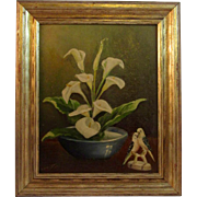 Mid-Century Oil Painting