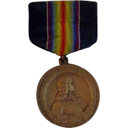 World War I Pennsylvania National Guard Medal 28th Infantry Division in Original Box