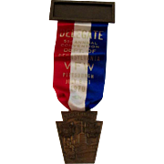 Pittsburgh, PA VFW Delegate Medal and Ribbon for the 1970 51st Annual Convention