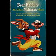 1948 Brer Rabbit's New Orleans Molasses Recipes Advertising Cookbook