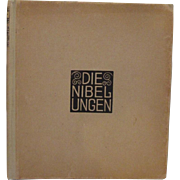 The Nibelungs Die Nibelungen Rare German Book Czeschka Illustrations