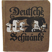 Deutsche Schwante c1917 Illustrated German Children's Book Sigmund Von Suchodolski Illustrations