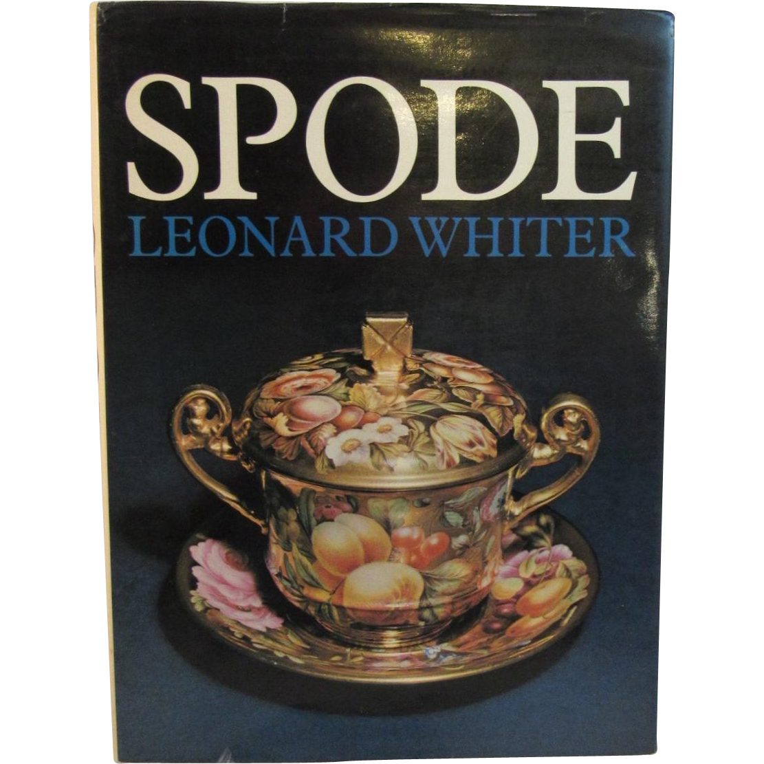 Spode Book by Leonard Whiter 1970