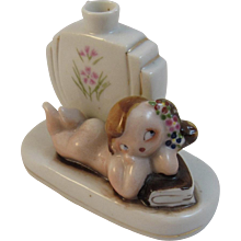 Occupied Japan Baby Girl Vase by Mocco
