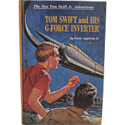 Tom Swift and His G-Force Inverter Book Published in 1968