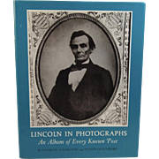 Lincoln in Photographs An Album of Every Known Pose by Hamilton and Ostendorf