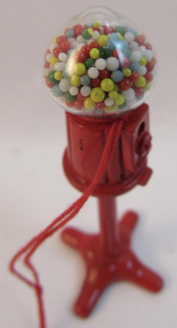 cast iron bubble gum machine