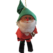 Vintage Parma Elf Ornament