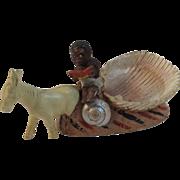 Black Americana Mid-Century Folk Art.