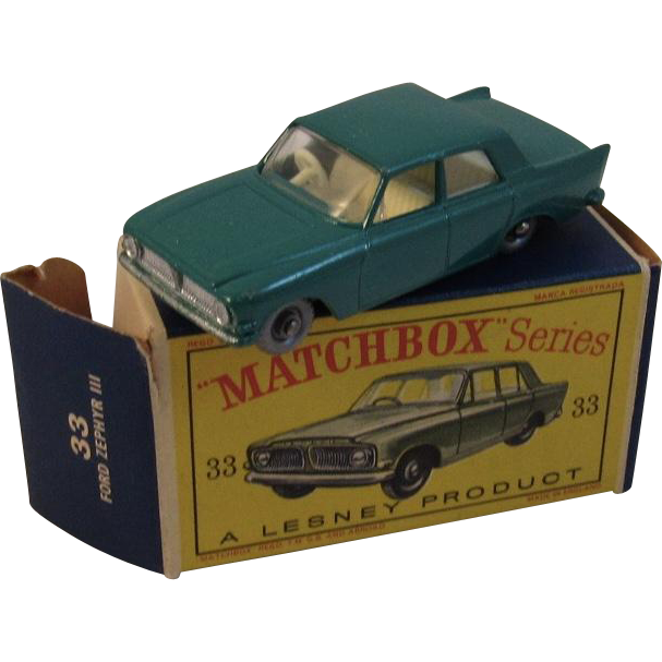 Matchbox Lesney 33 Ford Zephyr III