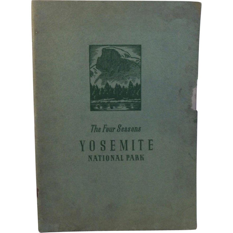 1940 The Four Seasons in Yosemite National Park Ansel Adams Photographer