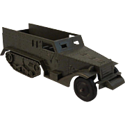 Ideal Military Half Track Toy Truck