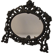 Cast Iron Gothic Oval Frame by JM Iron Art