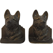 German Shepherd Dog Book Ends