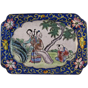 Early Cloisonné Pin Tray