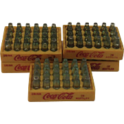 Miniature Coca Cola Bottles in Carriers