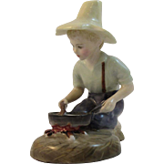 1961 Royal Doulton River Boy Figurine Bone China