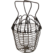 Miniature Wire Egg or Berry Basket