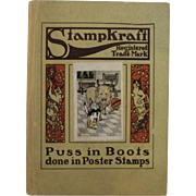 1919 Puss in Boots Stampkraft Children's Book