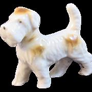 Vintage Airedale Dog Figurine Miniature