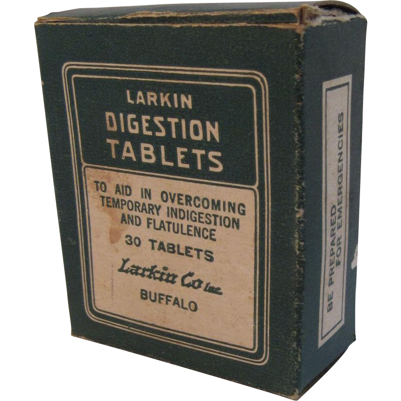 Larkin Digestion Tablets Box