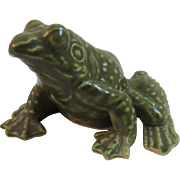Vintage Lefton Frog Figurine