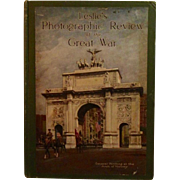 Leslie's Photographic Review of the Great War WWI World War I