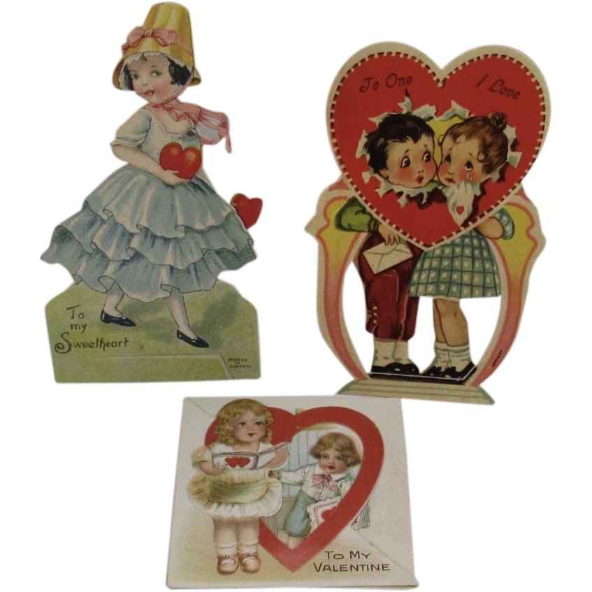 3 German Valentines 1 Mechanical