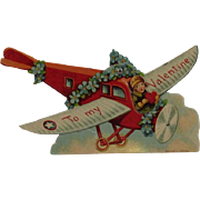 German Mechanical Airplane Valentine