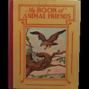 c1925 My Book Of Animal Friends by Harry Bird