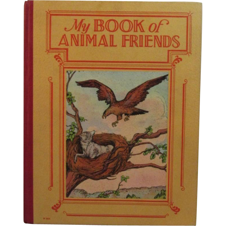 c1925 My Book Of Animal Friends by Harry Bird