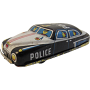 Nomura Tin Friction Police Car Japan Japanese