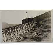 RPPC Railroad Train on Jacob's Ladder, Mt. Washington NH