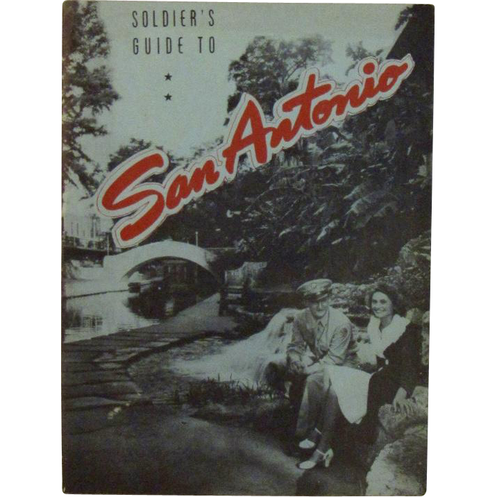 WWII Soldier's Guide to San Antonio Southwestern Bell Telephone Co