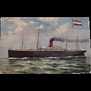 SS Minnetonka Raphael Tuck & Sons Oilette Postcard number 9126