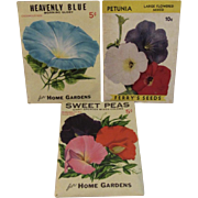 Vintage Unopened Seed Packets