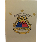 11th Armored Division Thunderbolt 50th Anniversary Ardennes Rhineland Central Europe