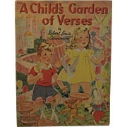 1941 A Child's Garden of Verses RL Stevenson George Trimmer Illustrated No 3427