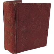 1834 Miniature Child's Bible