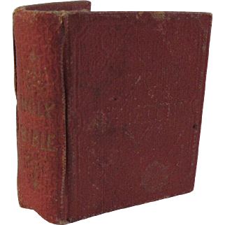 1834 Miniature Child's Bible